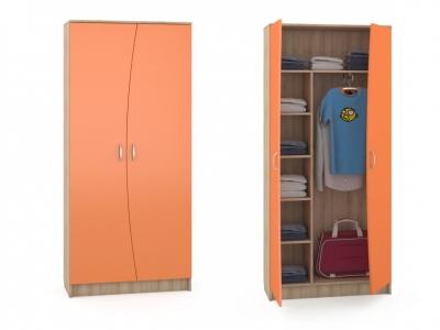 Шкаф Ника 403 898х388х1973 Оранжевый