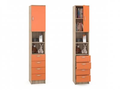 Пенал Ника 406 362х388х1973 Оранжевый