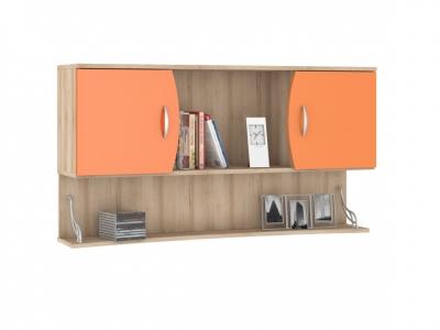 Шкаф навесной Ника 415 1230х278х665 Оранжевый