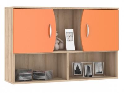 Шкаф навесной Ника 416 М 1024х278х665 Оранжевый