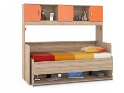 Стол-кровать трансформер Ника 428 Т Оранжевый