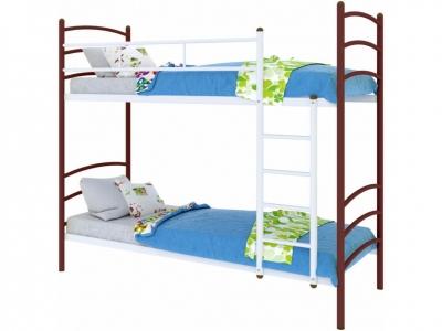 Кровать Милана duo коричневая