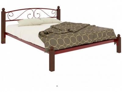 Кровать Вероника Lux красная