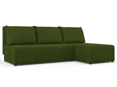 Угловой диван Алиса Vital green кат. 2
