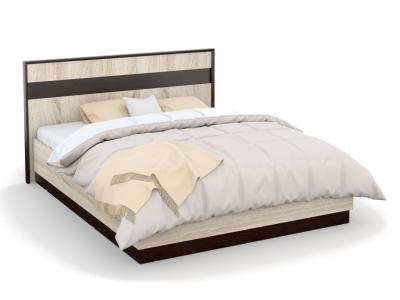 Кровать Эшли 160х200 с подъемным механизмом Венге/сонома