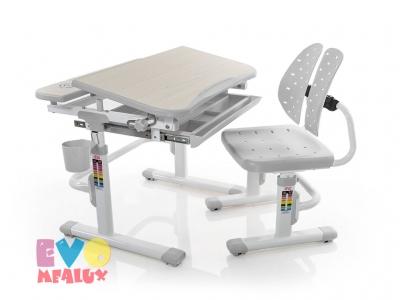 Парта и стульчик Mealux EVO-05 G серая
