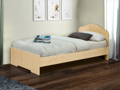 Кровать одинарная на уголках №3 Матрица