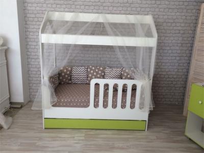 Кроватка-Домик с ящиком