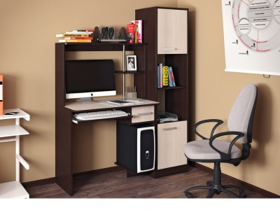 Компьютерный стол Дебют с пеналом