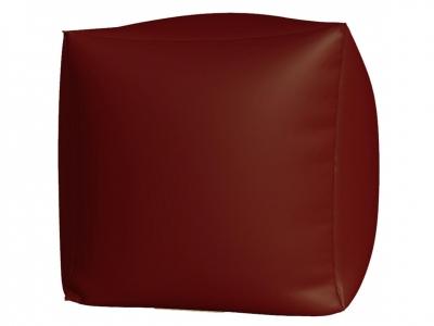 Пуфик Куб макси нейлон бордовый