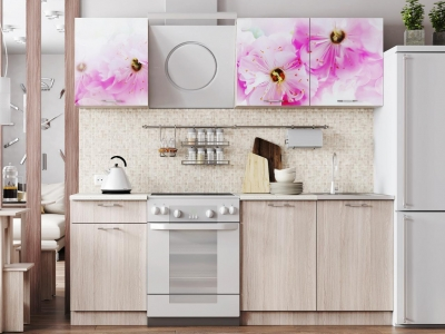 Кухонный гарнитур Легенда 15 Цветы
