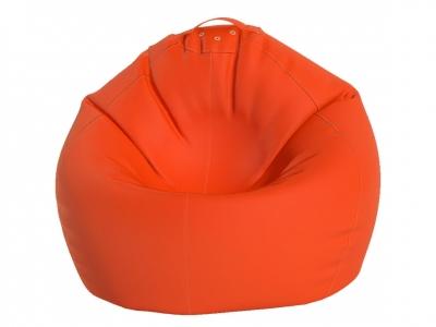 Кресло-мешок Малыш нейлон оранжевый люмин