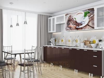 Кухня Модерн фотопечать кофе