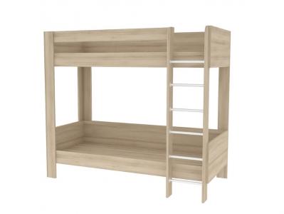 Кровать двухъярусная Ника 438 М Бук Песочный