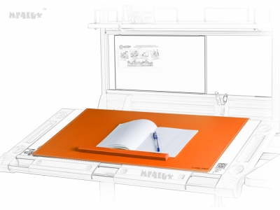 Настольное покрытие PAD-01 New OR с металлической основой оранжевого цвета и магнитным держателем