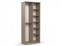 Шкаф 2-х створчатый Дуэт Люкс 960х450х2300 ясень шимо
