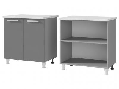 Шкаф-стол рабочий 2-дверный 800х820х600 8Р1 БТС МДФ