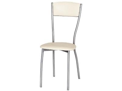 Кухонный стул Сильвия М металлик серебристый-молочный