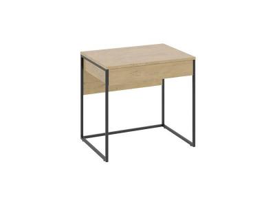 Стол компьютерный Лофт тип 1 Чёрный, Бунратти