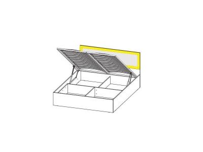 Вега ВМ15 Кровать с подъемным механизмом спальное место 160-200 950х1632х2032 мм