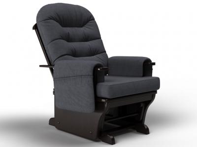 Кресло-качалка Венеция-глайдер графит