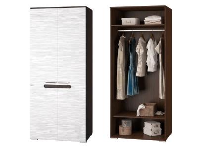 Шкаф для одежды с 2мя дверками Вика